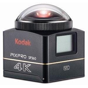 デイトナ 【必ず購入前に仕様をご確認下さい】アクションカメラセット  SP360 4K (93436)【smtb-s】