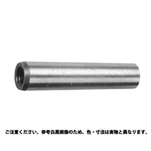 サンコーインダストリー S45CーQ(焼入れ) 内ねじ付きテーパ―ピン  規格(6 X 60) 入数(100)【smtb-s】