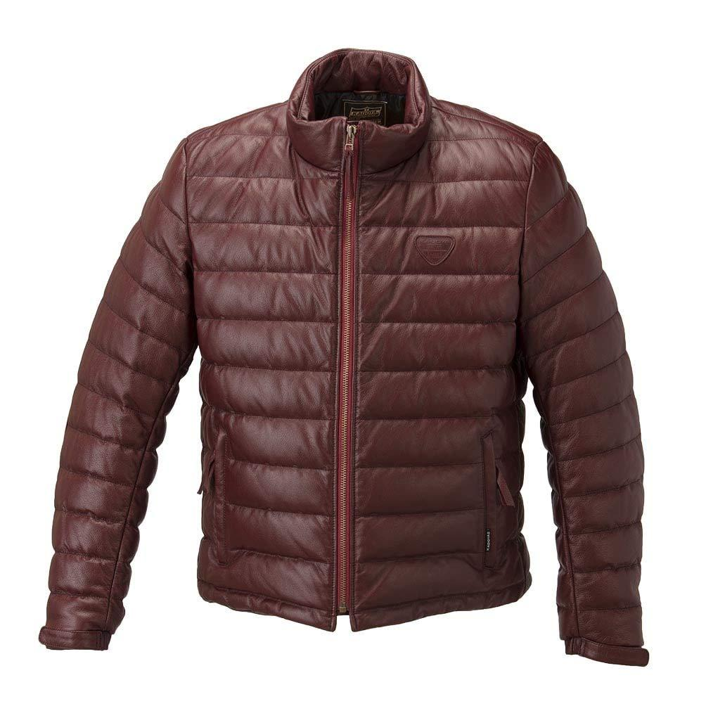 カドヤ(KADOYA) カドヤ 1183 LEATHER DOWN JACKET L WI(1183/WI/L)【smtb-s】