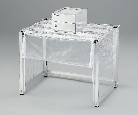 One) 折りたたみクリーンルーム用防塵ブース OBK7003-629-01【smtb-s】 アズワン(As