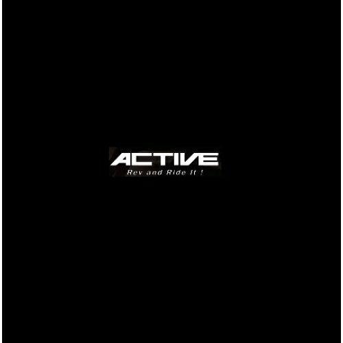 Active ACTIVE/14053561B OILクーラーステーSET ストレート 4.5-7R BLK仕様 SRX400 90-/600 90-※ステーのみ【smtb-s】
