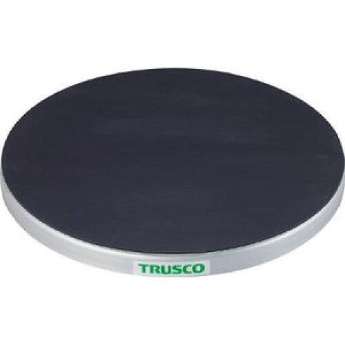 TRUSCO(トラスコ中山) 回転台 50Kg型 Φ400 ゴムマット張り天板TC4005G  8500【smtb-s】