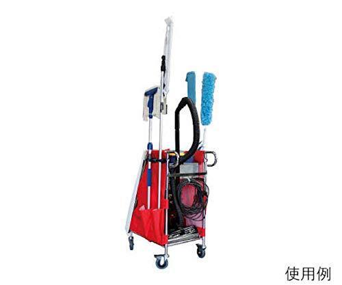 テラモト エアロカートZ 掃除機搭載タイプ 赤 DS2271502【smtb-s】