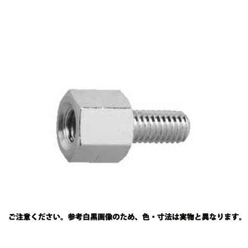 540E【smtb-s】 サンコーインダストリー 黄銅(低カドミ材)六角雄ねじ・雌ねじスペーサーBSB-E(ニッケル)