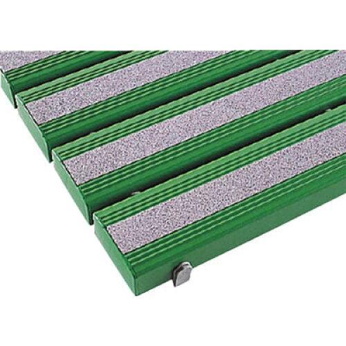 テラモト 抗菌滑り止め安全スノコ組立なし 緑 600×1160(MR0983421)【入数:4】【smtb-s】