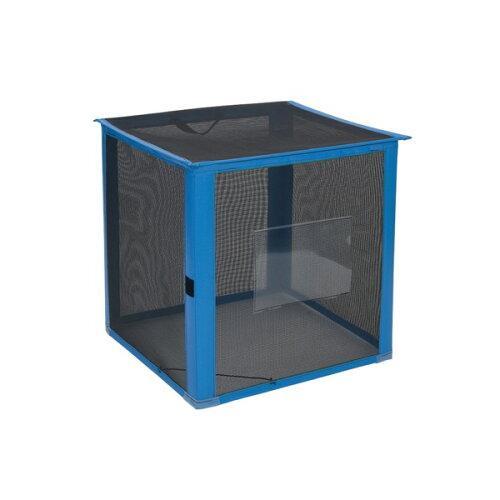 テラモト 自立ゴミ枠 折りたたみ式 黒 700×700×700(DS2610129)【入数:5】【smtb-s】