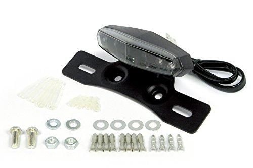 送料無料 SP武川 引き出物 LEDミニテールランプ ブラック テール ナンバーブラケット 12V汎用 オープニング 大放出セール 品番:05-08-0020