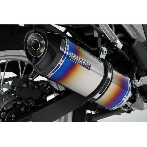 ビームスモーターカンパニー GT-CORSA フルエキ ヒートチタンサイレンサー 政府認証 VERSYS-X/TOUER 22年騒音規制対応 G427-66-S6J  ※メーカー在庫わずか【smtb-s】