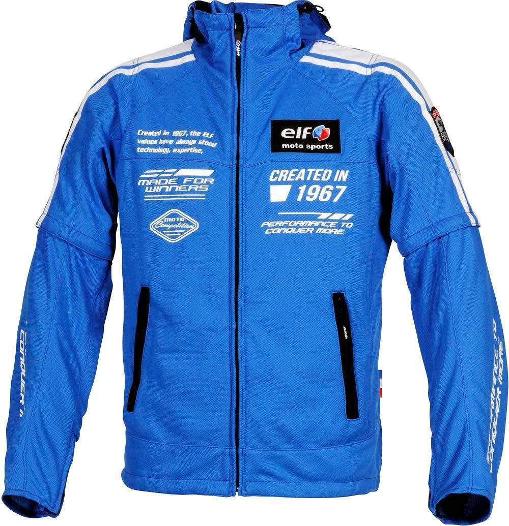 エルフ(ELF) elf EL-9226 Urbano Mesh Parka (アルバーノメッシュパーカー) Blue LL 品番:EL-9226-LL-BL【smtb-s】