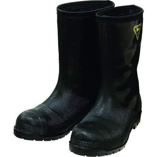 SHIBATA シバタ工業 冷蔵庫用長靴 NR041 冷蔵庫長-40度 ブラック 25センチ (1238881)【smtb-s】