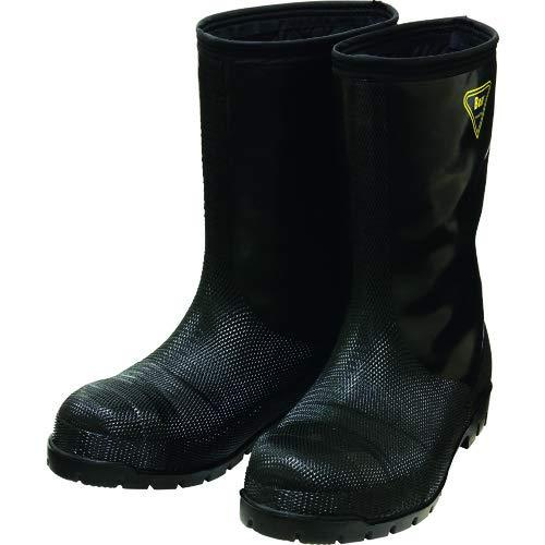 SHIBATA シバタ工業 冷蔵庫用長靴 NR041 冷蔵庫長-40度 ブラック 27センチ (1238883)【smtb-s】