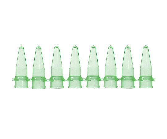 バイオプラス(Bio Plas) PCRチューブ 8連0.2mL 緑 125本入5010-53-8624-05【smtb-s】