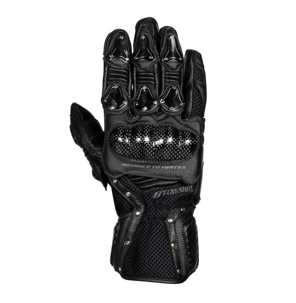 フラッグシップ(Flagship) FLAGSHIP FG-S195G Vertex Metal Glove (バーテックスメタルグローブ) Black&Black M 品番:FG-S195G-M-BK/BK【smtb-s】