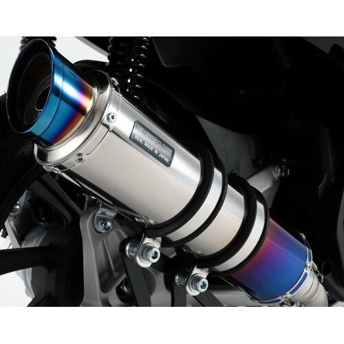 ビームスモーターカンパニー R-EVO2 ヒートチタンサイレンサー 政府認証 PCX125 2018~ 22年騒音規制対応 G179-54-007 ※メーカー在庫わずか【smtb-s】