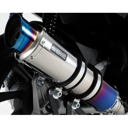 ビームスモーターカンパニー R-EVO2 ヒートチタンサイレンサー 政府認証 PCX150 2018~ 22年騒音規制対応 G180-54-007 ※メーカー在庫わずか【smtb-s】