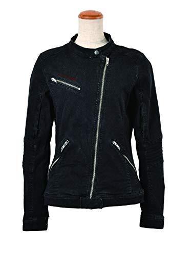ロッソスタイルラボ(Rosso StyleLab) ROSSO ライトオンスストレッチデニムジャケット BLACK M 品番:ROJ-75/BK/M【smtb-s】