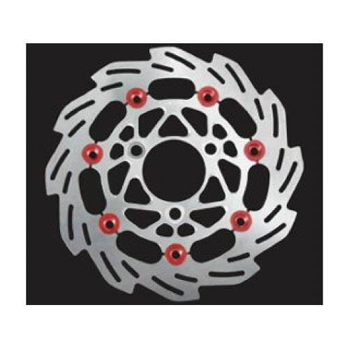 SHIFT UP NSF REAR ウェーブF.ディスクロ-タ-160 SILVER/RD (201250-03)【smtb-s】