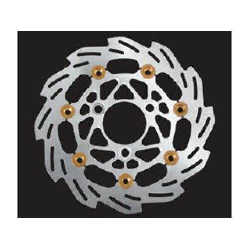 SHIFT UP NSF REAR ウェーブF.ディスクロ-タ-160 SILVER/GD (201254-03)【smtb-s】