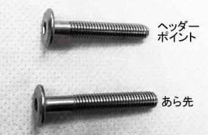サンコーインダストリー ジョイントコネクターボルトCタイプ六角穴 6X40(S=30【smtb-s】
