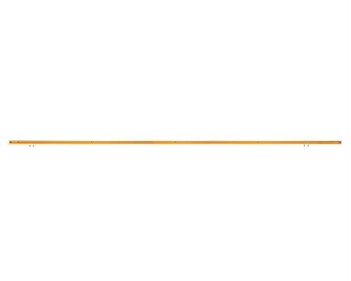 日中製作所 58070 角型フックレールセット 木目 2M 石膏ボード【smtb-s】