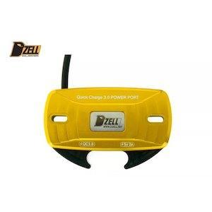 優部品 【必ず購入前に仕様をご確認下さい】DZELL USB TWOポート  GD (780202)【smtb-s】
