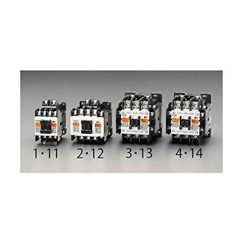 エスコ 200V/200V・7.5 kw 電磁接触器(標準形) (EA940NB-14)【smtb-s】