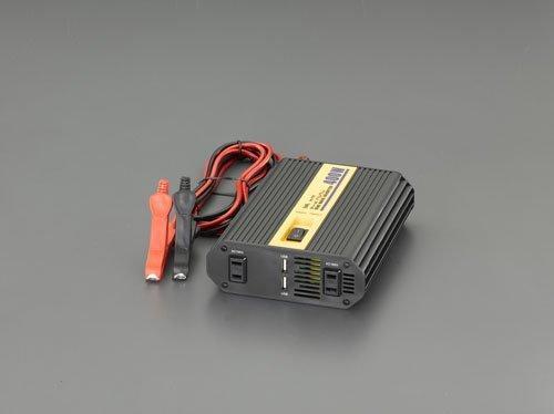 エスコ DC12V→AC100V/400W・DC12V 正弦波インバーター (EA812JC-13)【smtb-s】