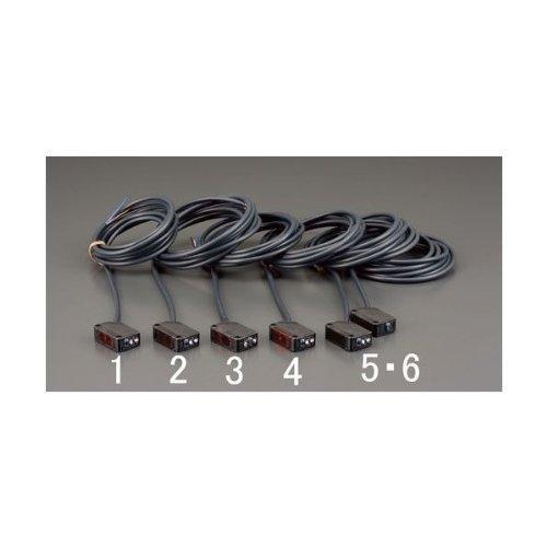 エスコ アンプ内蔵形光電センサー(透過形) (EA940LM-6)【smtb-s】