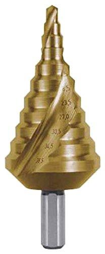 ルコ RUKO 2枚刃スパイラルステップドリル 38.5mm チタン 101091T【smtb-s】
