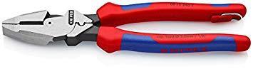 KNIPEX社 0912240TKNIPEX 0912-240(落下防止ツール付き) 架線工事用強力ペンチ8368952【smtb-s】