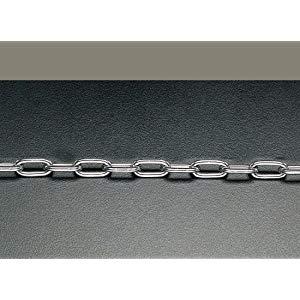 エスコ 4.0mmx10m リンクチェーン(ステンレス製) (EA980SA-410)【smtb-s】