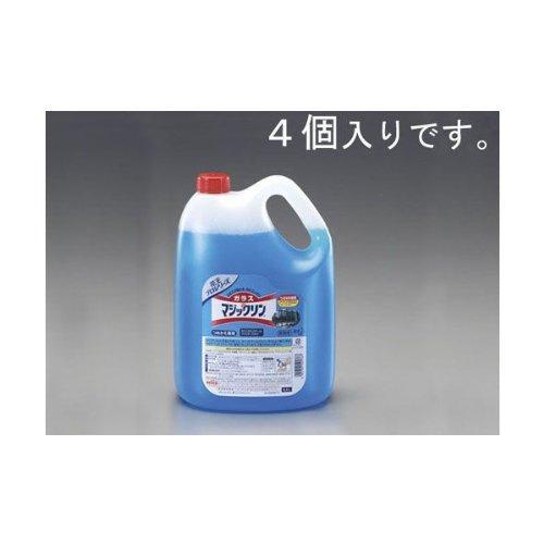 エスコ 4.5L ガラスクリーナー(4個) (EA922KD-8A)【smtb-s】