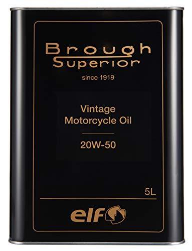 エルフ(ELF) BROUGH SUPERIOR (ブラフ シューぺリア) シリーズ VINTAGE [ヴィンテージ] OIL / 20W50 5L 208054 品番:208054【smtb-s】