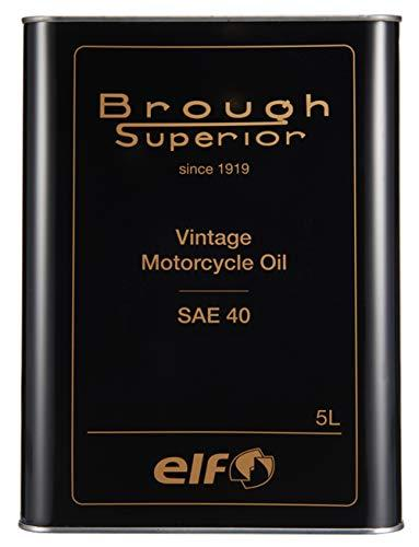 エルフ(ELF) BROUGH SUPERIOR (ブラフ シューペリア) シリーズ VINTAGE [ヴィンテージ] OIL / SAE40 5L 208055 品番:208055【smtb-s】