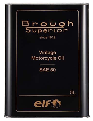 エルフ(ELF) BROUGH SUPERIOR (ブラフ シューペリア) シリーズ VINTAGE [ヴィンテージ] OIL / SAE50 5L 208056 品番:208056【smtb-s】