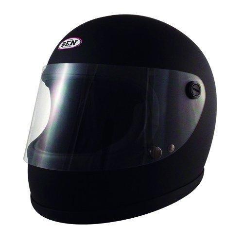 送料無料 スピードピット 再再販 SPEED PIT おしゃれ TNK ヴィンテージフルフェイスヘルメット マッドブラック B60 smtb-s