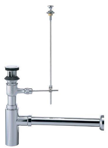 YAZAWA ボトルトラップ 洗面用品 オーバーフロー用 アジャスト付 排水栓外径:54mm H761-32【smtb-s】
