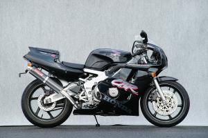 ヤマモトレーシング 90'~ CBR400RR SUS4-2-1 UP-TYPE カーボン98×416 レース用 品番:10403-21SCR ※受注生産(2、3週間)※注文後キャンセル不可【smtb-s】