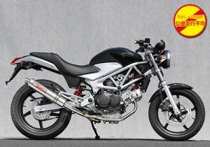 ヤマモトレーシング 09'~ VTR250 SUS2-1 チタン RACE 品番:10260-61STR ※受注生産(2、3週間)※注文後キャンセル不可【smtb-s】