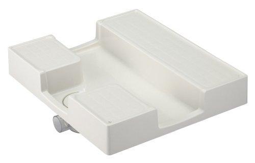YAZAWA 洗濯機パン 寸法:640×750mm アイボリーホワイト H5412-750【smtb-s】