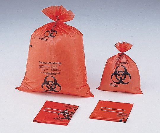 滅菌表示付オートクレーブバッグ オレンジ 970×1190×0.05mm7-5324-04【smtb-s】