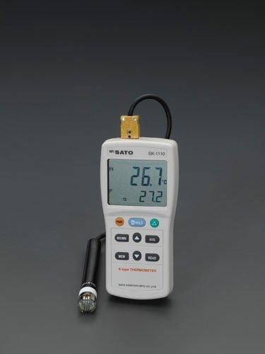 エスコ -73.3 /+1371°C デジタル温度計 (EA701SG-1)【smtb-s】