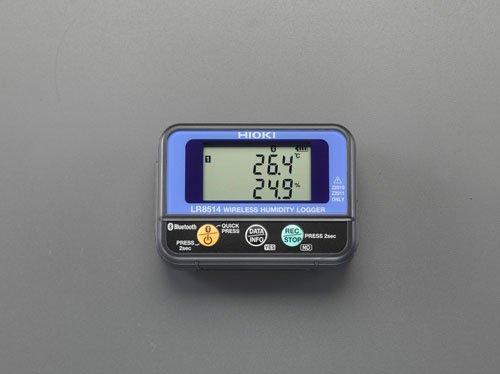 エスコ 温湿度データロガー(ワイヤレス) (EA742HC-1)【smtb-s】
