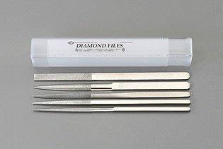 エスコ 215mm/#150 ダイヤモンドやすり(5種・5種組) (EA826SE-5)【smtb-s】