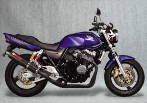ヤマモトレーシング/10410-01NCB 99~CB400SF SPEC-A SLIP-ON CF【smtb-s】