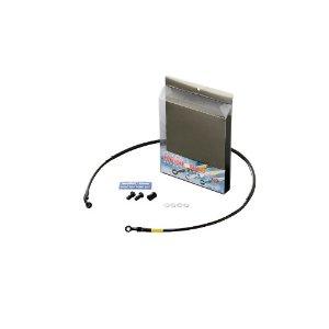 BUILD A LINE/20719060 ステンBLK (フロント) XLR250/BAJA 87-94【smtb-s】