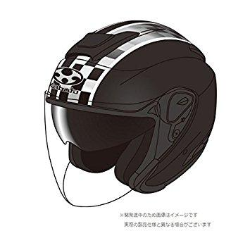OGK 【必ず購入前に仕様をご確認下さい】ASAGI SPEED フラットブラック XS【smtb-s】