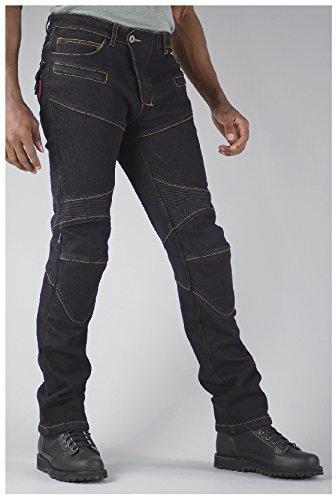 コミネ(Komine) WJ-921S S/F Warm D-Jeans 色:Black サイズ:WL/30 (07-921)【smtb-s】