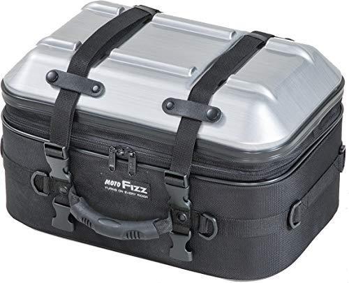 タナックス MOTO FIZZ シートシェルケース ヘアラインシルバー 品番:FIZZ MFK-265【smtb-s】