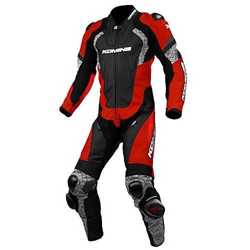 KOMINE(コミネ) S-52 Racing Leather Suit Red/Black 3XL 品番:02-052/RD/BK/3XL【smtb-s】